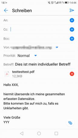 app mail sharing