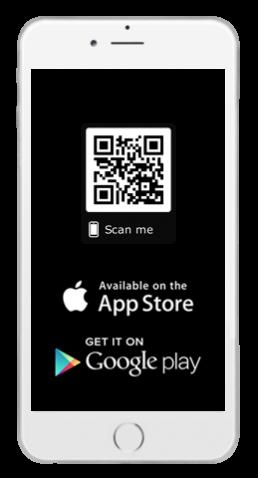 QR Code für die APPsolute mobility App im Google Play Store oder App Store