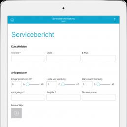Servicebericht App