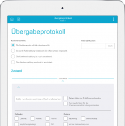 Übergabeprotokoll App